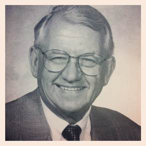 Legendary Iowa play-by-play voice Jim Zabel passed away on Thursday, May 23, 2013. He was 91. (Photo courtesy of the Iowa sports information department.)
